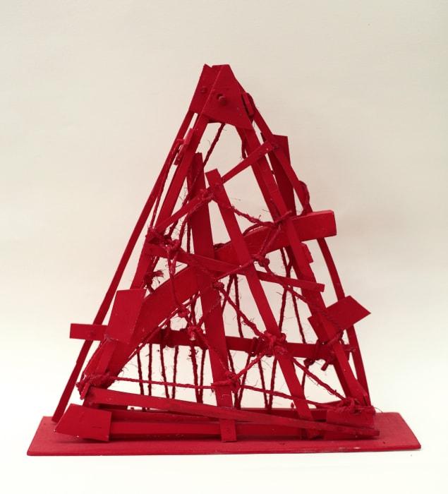 Petite construction rouge by Jan Voss