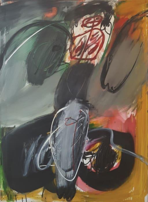 Negerin 5 by Walter Stöhrer