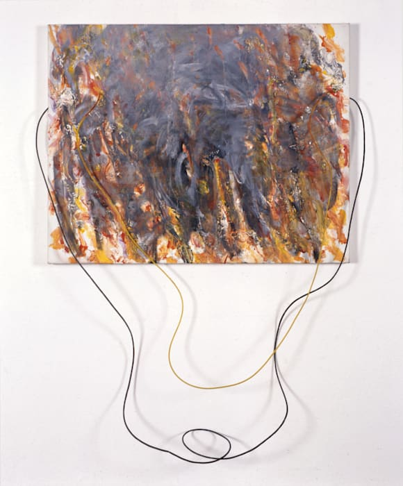 Feuergott (Fire God) by Gerhard Hoehme