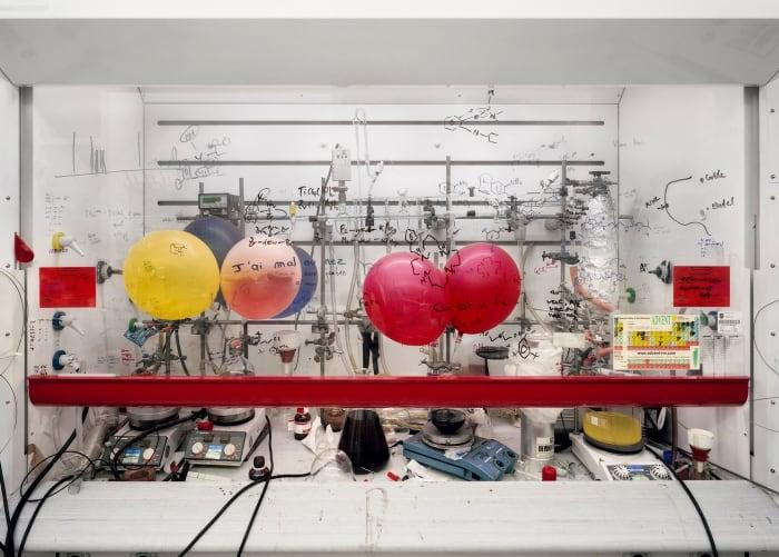 Chemistry Fume Cabinet, the University of Edinburgh by Thomas Struth