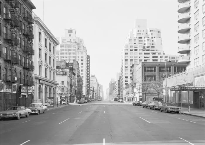3rd Avenue at 85th Street, New York, Upper East 1978 by Thomas Struth