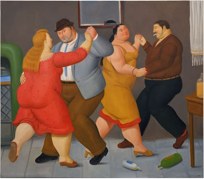Dancers by Fernando Botero