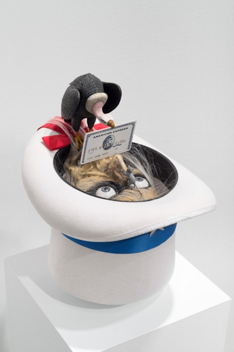 Credit Card Offering 2 (Uncle Sam in a Hat with Vulture & Rat) by Danny McDonald