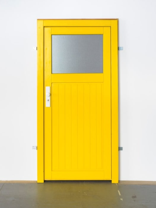 Yellow Door by Hannah Black