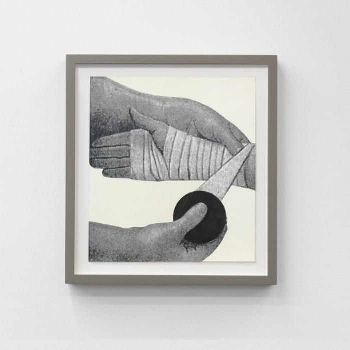 Three Hands, One Broken by Roman Ondak