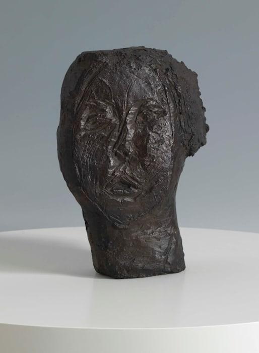 Tête de femme / Flora Mayo by Alberto Giacometti
