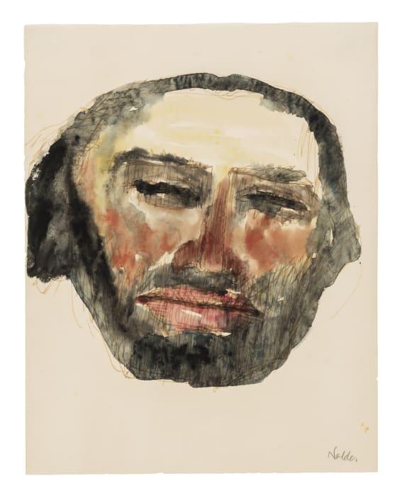 Kopf eines Apostels (Head of an Apostle) by Emil Nolde
