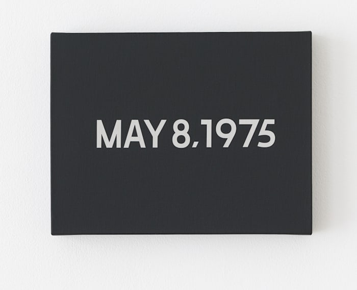 May 8, 1975 by On Kawara