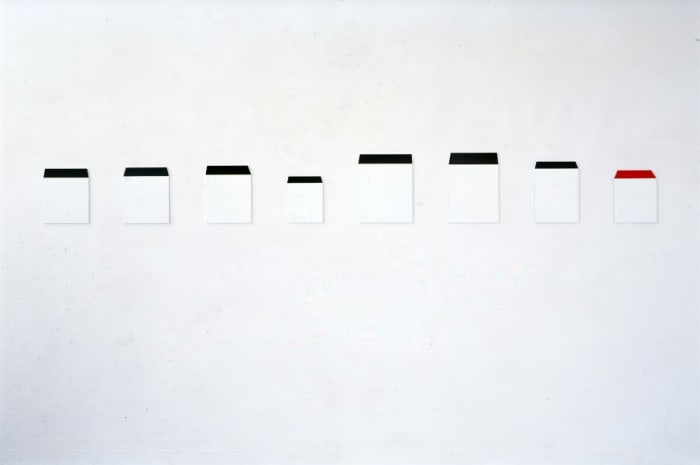 Nummer 1A-8A by Imi Knoebel