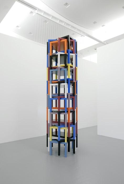 Samson's nudge, or Vitrail Composition abstraite désaxée by Ryan Gander