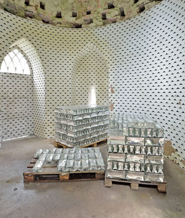 684 Bricks for June Gloom by Pae White