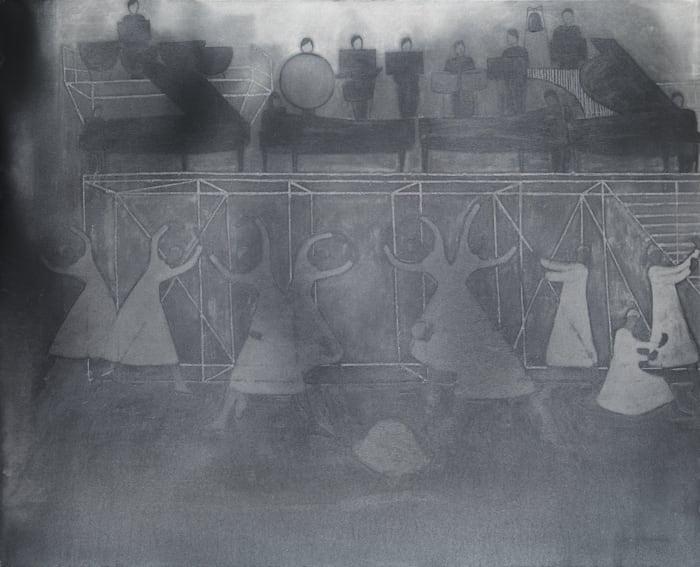 Tableau 1 (braiding) by Silke Otto-Knapp