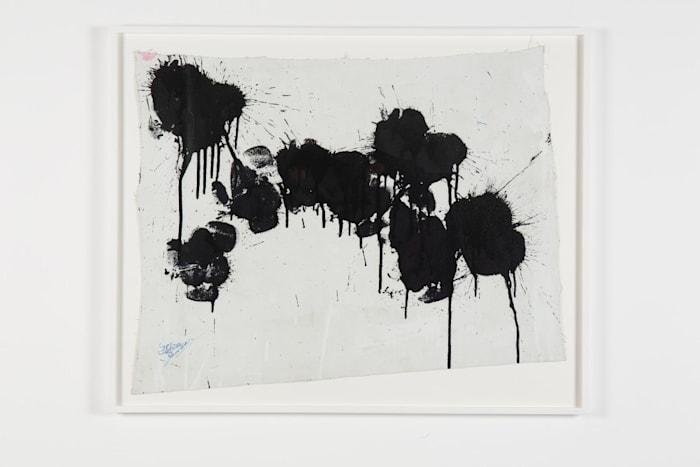 Black on White by Ushio Shinohara