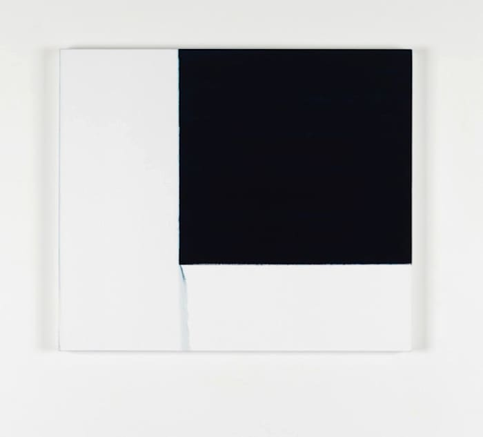 Exposed Painting Blue by Callum Innes