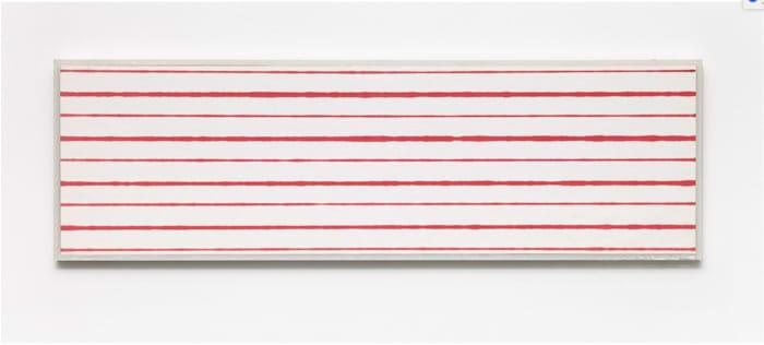 Faster and Slower Lines No. 2 by Kristján Gudmundsson