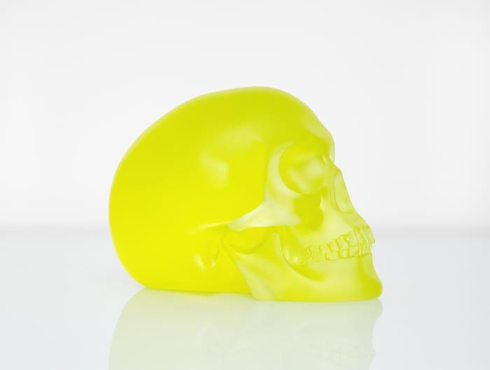 Green Skull by Sherrie Levine