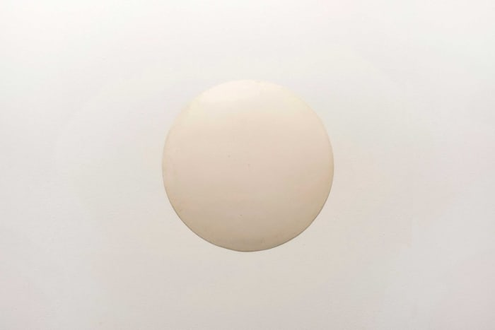 Untitled (Disc) by Ian Wilson