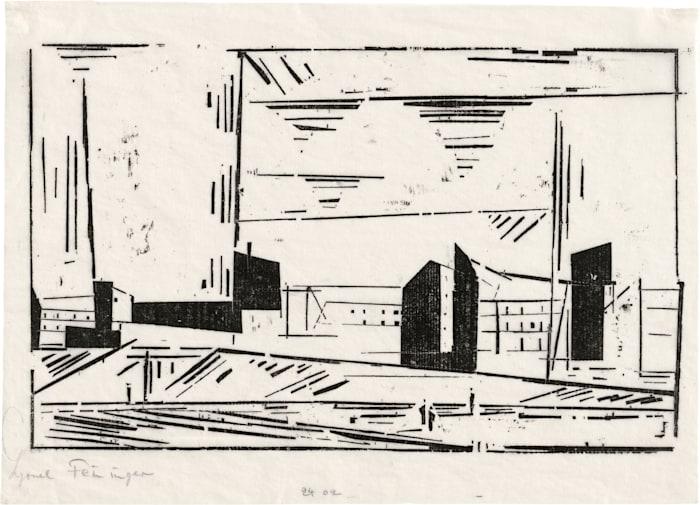 Vorstadt I by Lyonel Feininger