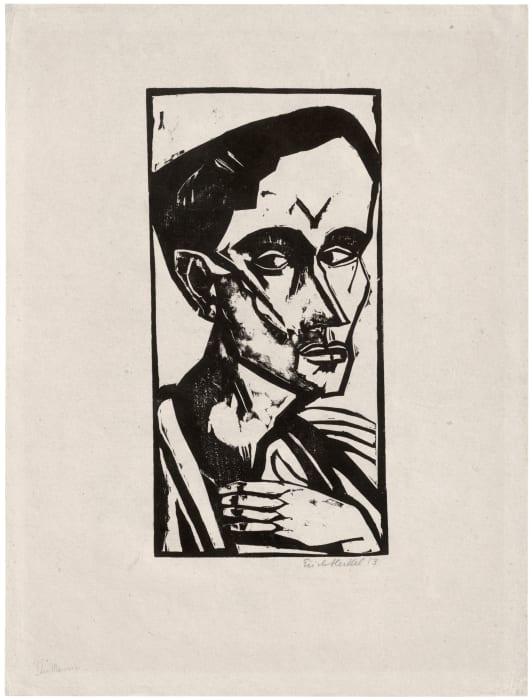 Der Mann by Erich Heckel