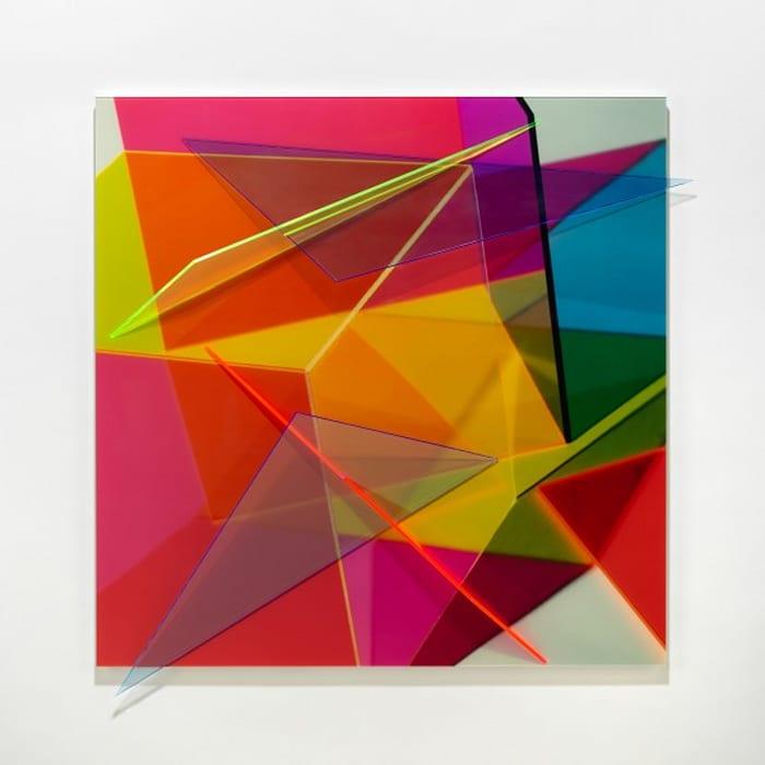 Progression Eleven by Barbara Kasten