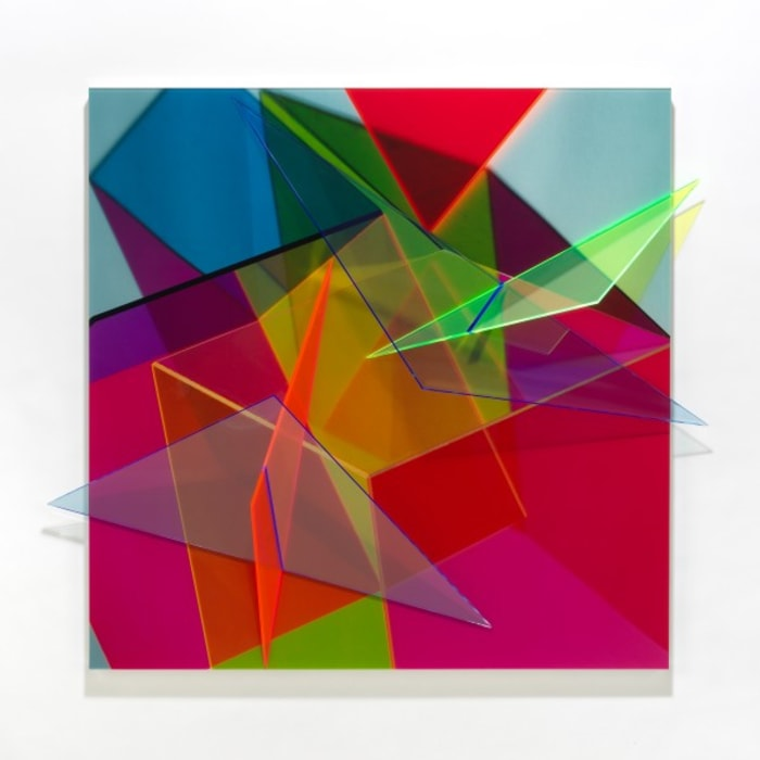 Progression Ten by Barbara Kasten