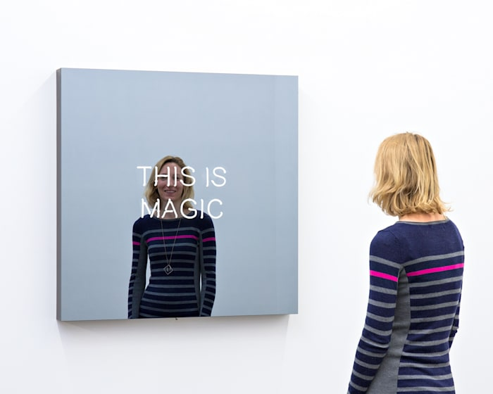THIS IS MAGIC by Jeppe Hein