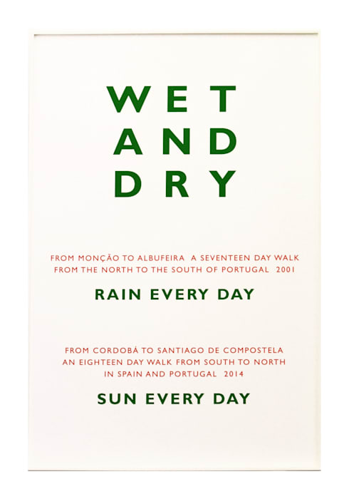 Wet and Dry by Richard Long