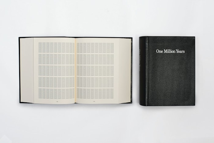 One Million Years by On Kawara