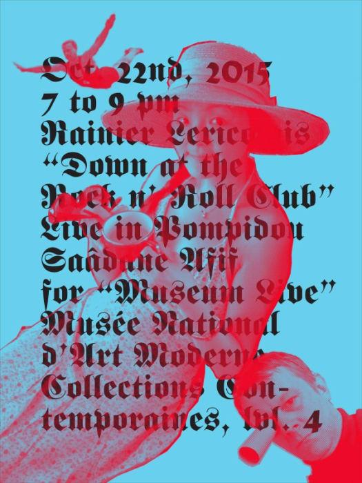 R.L/ Pompidou II (poster) by Saâdane Afif