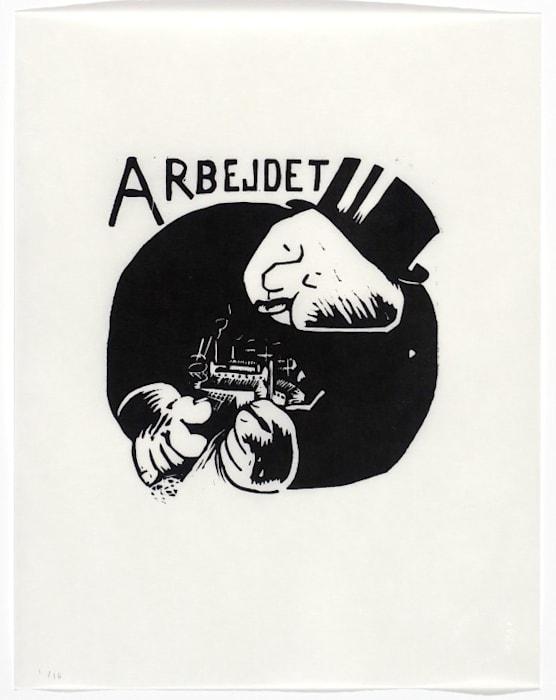 Uden titel (1933-39) by Asger Jorn
