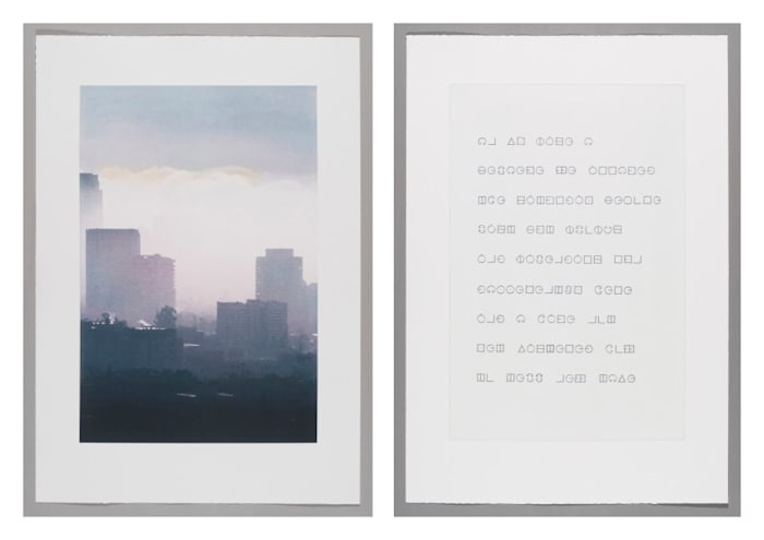Studies for Elsewhere (I-II) by Fiona Tan