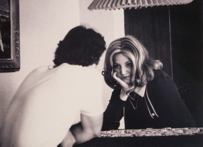 Roberta Meets Sydney at Del Coronado Hotel (San Diego) by Lynn HERSHMAN