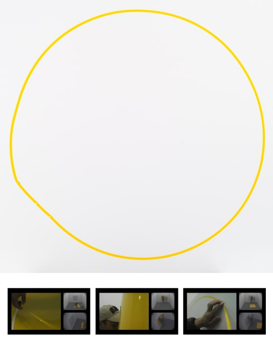 Circumspection-1090mm-02 by Zhang Qing