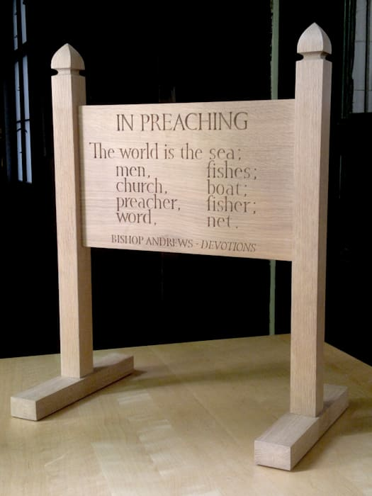 In Preaching / In Walking - Bishop Andrews (Devotions) / Ian Hamilton Finlay (Echoes Series) by Ian Hamilton Finlay