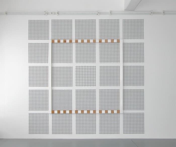 De la grille au grillage, n°2 by Daniel Buren