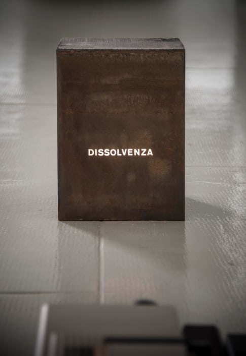 Dissolvenza by Giovanni Anselmo