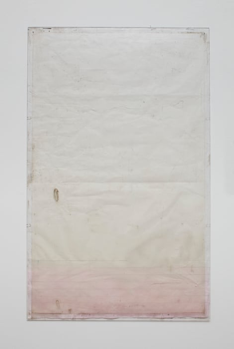Endnote, tooth (pink) by Ian Kiaer