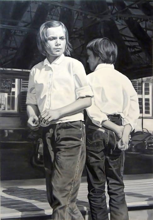 Autoscooter, 1967 (Hanna, Bärbel) by Dominik Sittig