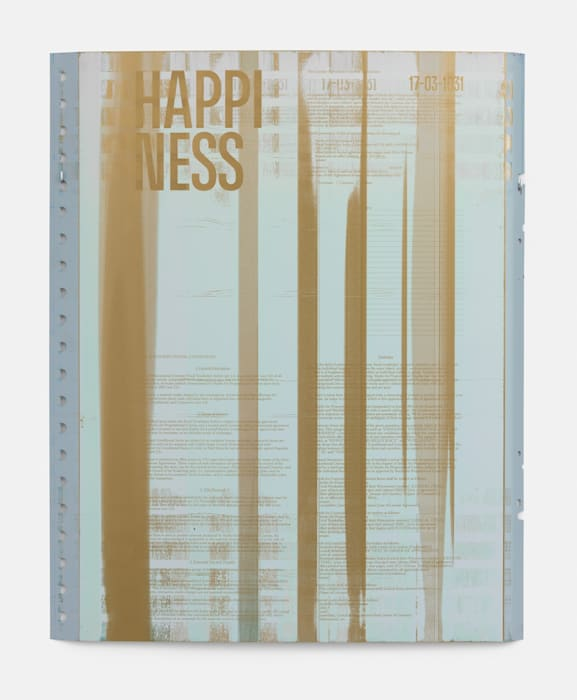 Focal Vocabulary Index (Lexical Item #17-03-1031: HAPPINESS) by Studio for Propositional Cinema
