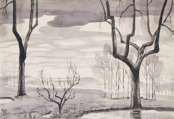 Return of Spring by Charles Burchfield