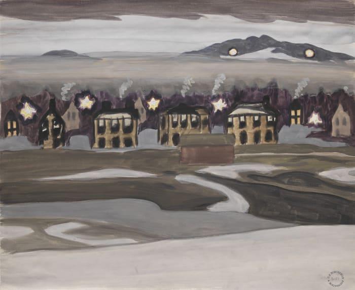 Village Lights by Charles Burchfield