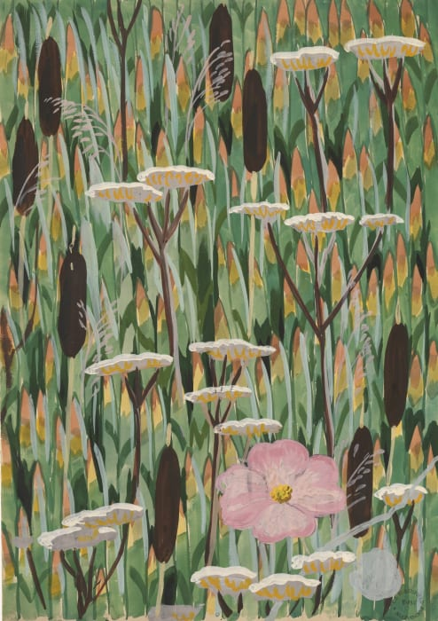 Wallpaper Design No. 4 by Charles Burchfield