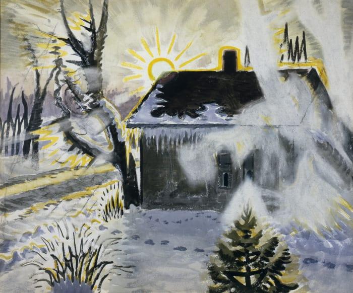 Winter Sunburst by Charles Burchfield