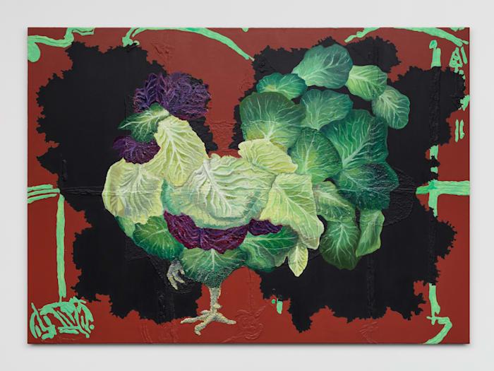 Cabbage Cock by Allison Katz
