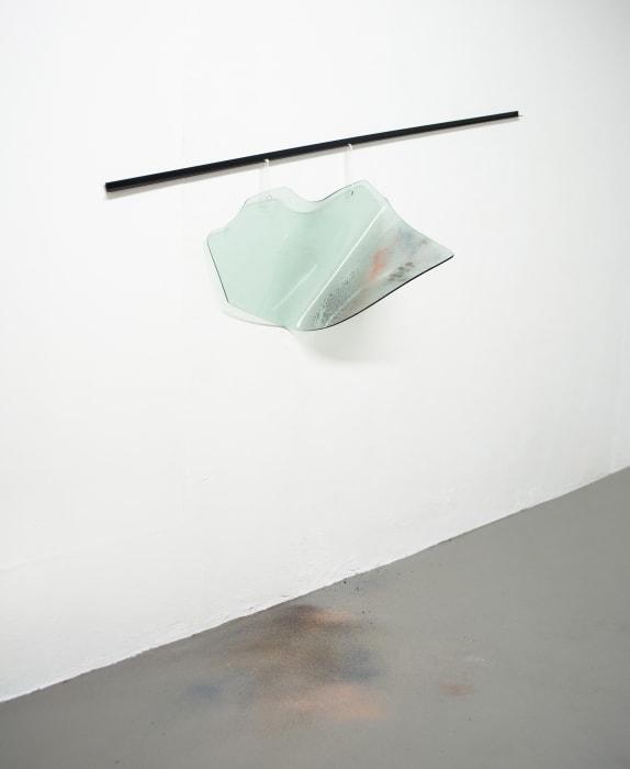A Man, a Woman, a dusty road, a car and a gun by Tania Pérez Córdova