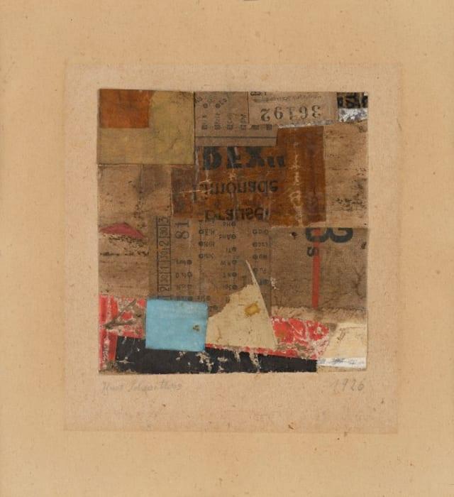 Untitled (36192) by Kurt Schwitters