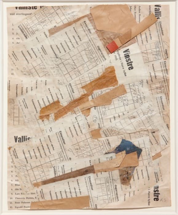Untitled (Vinstre) by Kurt Schwitters