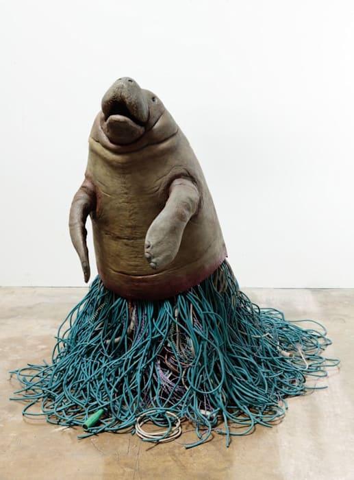 Antemortem Sirenian by Max Hooper Schneider