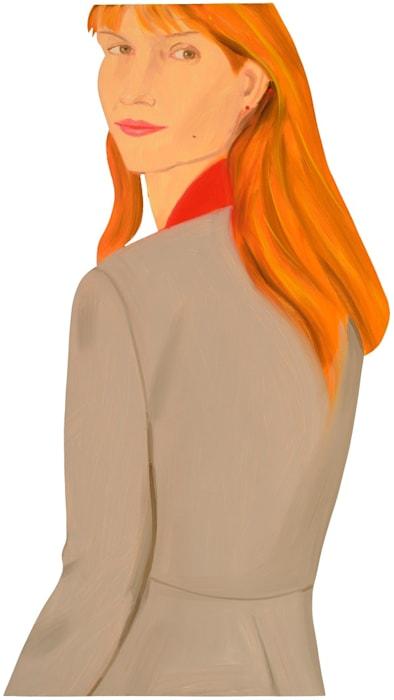 Pamela (Women in Jackets) by Alex Katz