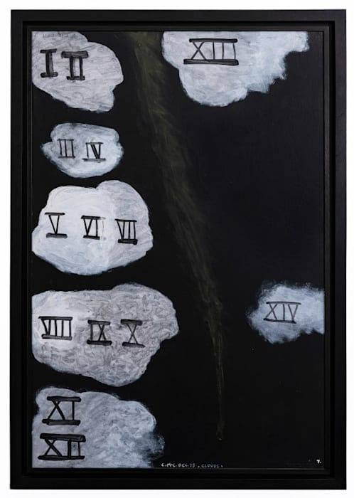 Clouds 7 by Colin McCahon